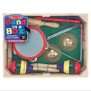 NWT Melissa and Doug Band in a Box